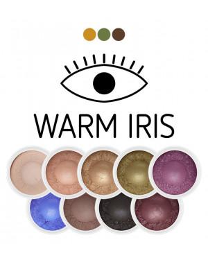 zestaw cieni mineralnych Warm Iris